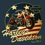 Harley-Davidson Summer Shirt 1 by Click-Art