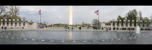 World War 2 Memorial Panorama by anda02