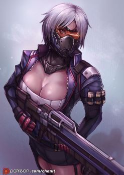 Soldier 76, OVERWARCH Gendervend [8] by kachima
