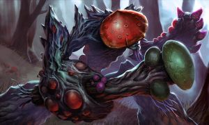 Heroes of Newerth - Toadwood Deadstool by Izaskun
