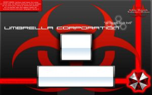 umbrella corp. logon vista by pako214