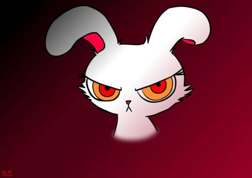 Bloody Bunny by rainbow-fire360