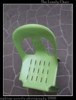 The Lonely Chair by sighing-quietly