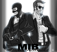 TF2:MIB: who is Better? by DarkLitria