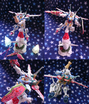 G-self attached christmas_Gundam Reconguista in G by 56coro
