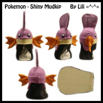3rd Gen - Shiny Mudkip Hat and Tail by LiliNeko