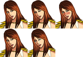 RPG Contest: Alice faceset by Lilithina