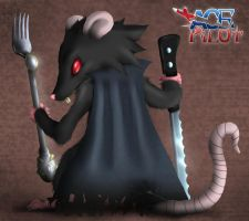 Nerg the Rat King by TheMoonMonkey