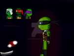 TMNT Behind The Darkness by AllytheWolffy98