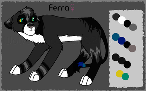 Ferra Ref Closed Breedable by WolvesWoodGlen