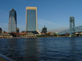 Downtown Jacksonville, Florida 2011 by cdbmiles1