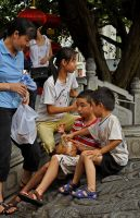 Chinese kids by MaxBdn