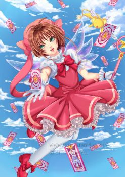Card Captor Sakura by artbykurisu