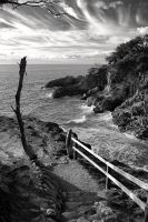 Path to Stradbroke point by gorkath