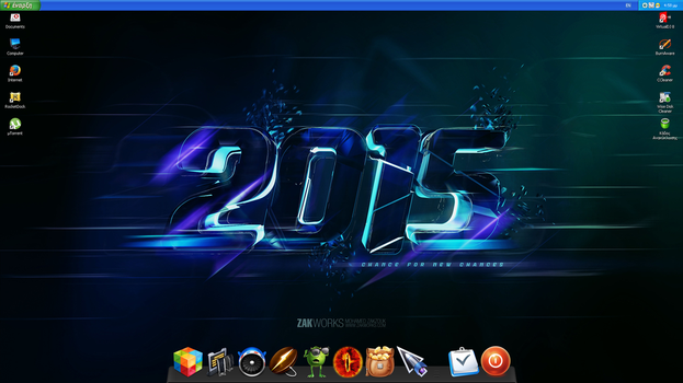 Desktop February 2015 by DjLuigi