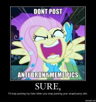 This needed to be said to bronies everywhere. by LadyCerebellum