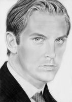 Downton Abbey Matthew Crawley Drawing by bel17b