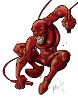 Daredevil Pencil thing by pmason83