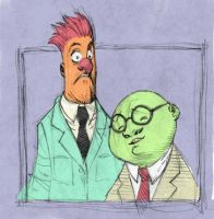 Bunsen and Beaker Color by res1986