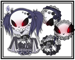 [Adopted] Skull Candle the Necromancer by Devil1lin