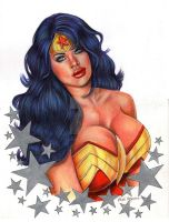 Wonder Woman by leidanogueira