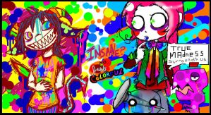 100 theme- rainbow by CrazyKyoFanGirl