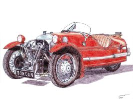 1151 - 1933 Morgan Super Sport by TwistedMethodDan
