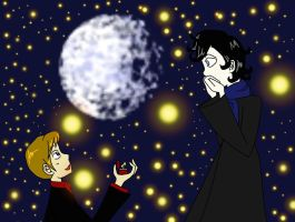 Johnlock Proposal by deathdiva54268