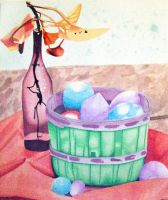 Watercolor Still Life by EmpressTuiLa