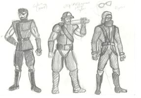 Sky Pirates Concepts by OrionTheMuse