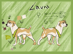 Laura Ref Sheet by WierkaKita