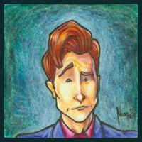 Post-it - Conan O'Brien by patrickianmoss