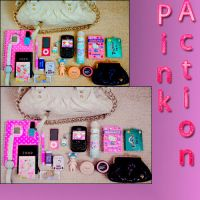 Pink action by Itzeditions