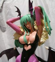 Morrigan Aensland Close Up by Shinobitron