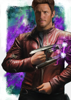 Peter Quill: Star-Lord by danchorman