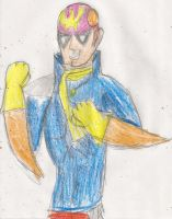 Captain Falcon by kingofthedededes73