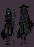Character designs by Bluerose1324