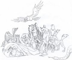 King is Dead by Blaquetygriss
