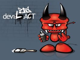 DevilAct + Wallpack by frozenration