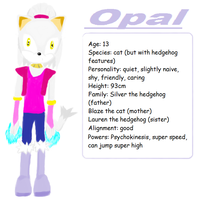Opal the cat profile by The-Blonde-Nerd