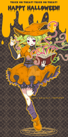 trick or treat~ witching hour! by 7-8jf