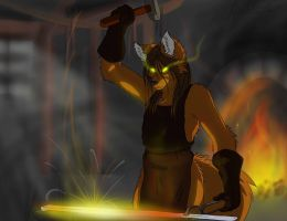 Forging my Soul by Ulrich-Ironpaw