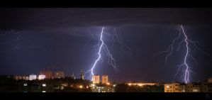 Urban lightning by Ksantor