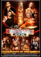 Wrestlemania 26 Poster by P-r-o-G-f-x