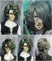 Commission bjd wig by Kimirra-bjd