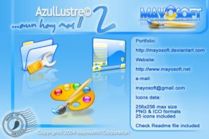 Azul Lustre 2 by Mayosoft