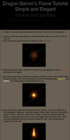 Simple Flame tutorial by DragonGamer
