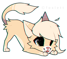 Kitty Chibi by foxlett