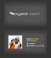 Crystal Pearl Business Card by prdx-design