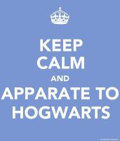 Keep Calm: Hogwarts by berquinn